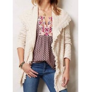 ANGEL OF THE NORTH Chevron Cable Knit Cardigan